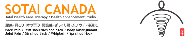 SOTAI CANADA     〜Japanese Alignment Therapy〜